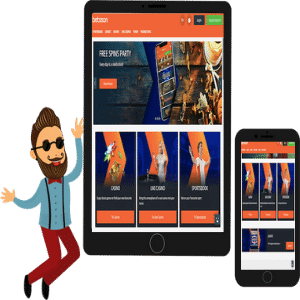 Betsson Casino Tablet